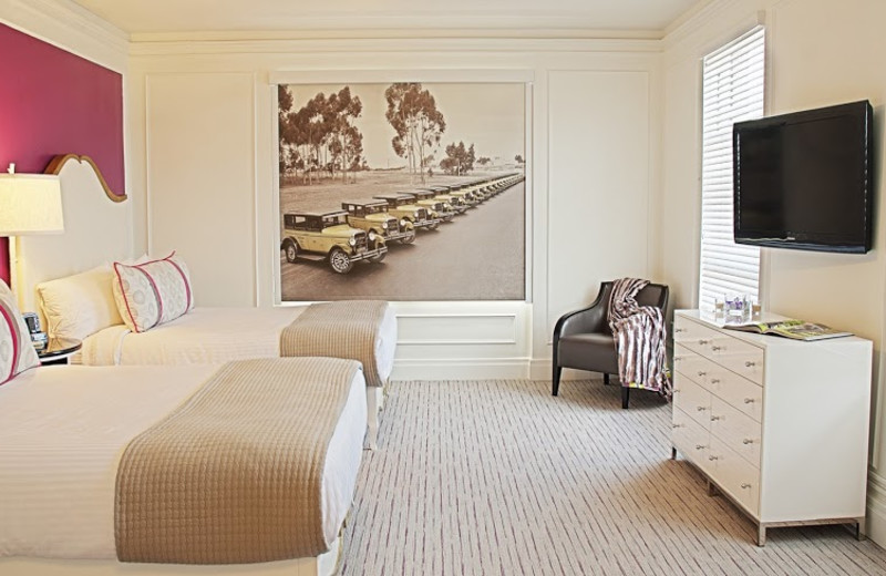 Guest room at Park Manor Suites.
