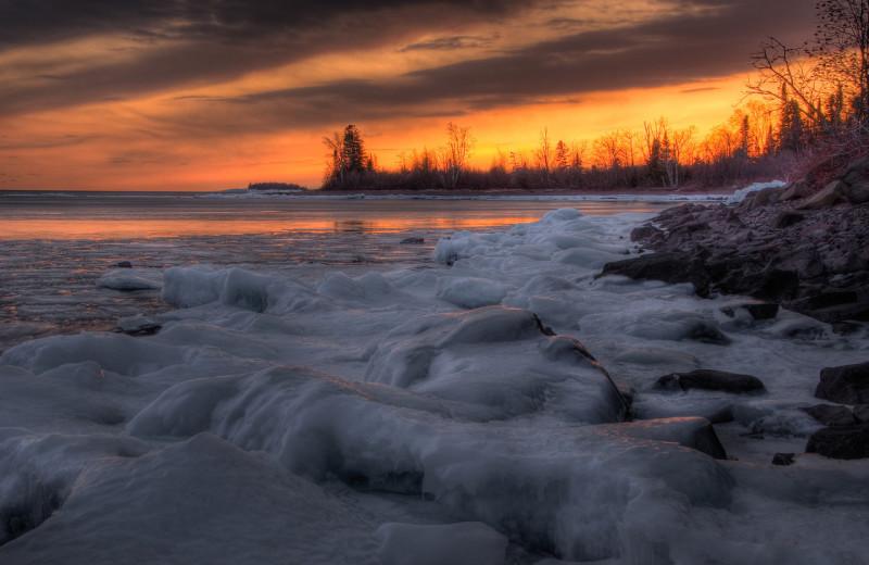 Lake Superior near Inn At Timber Cove.