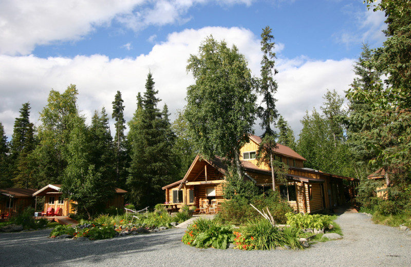 Exterior view of Kenai Riverside Lodge.