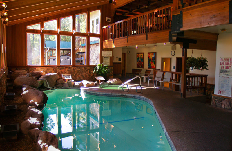 Indoor Swimming Pool at the Mountain Retreat
