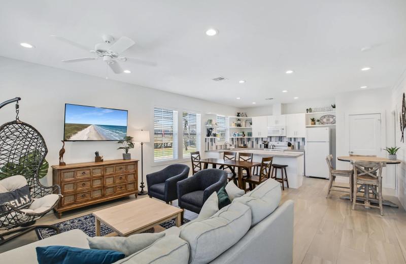 Rental living room at Starkey Properties.