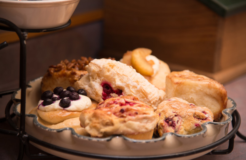 Continental breakfast at Stone Mill Hotel & Suites