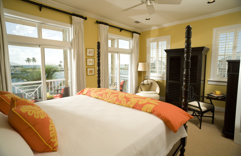 Guest room at Cape Eleuthera.