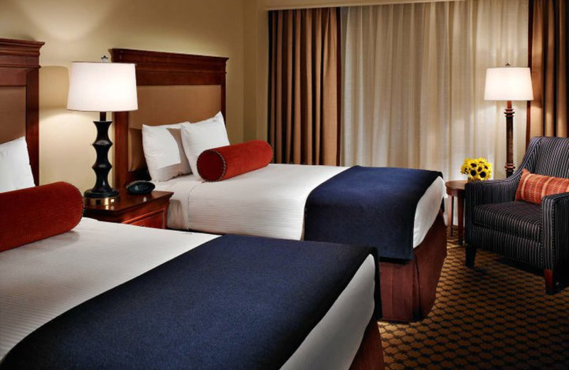 Double Bed Suite at The Hotel at Auburn University and Dixon Conference Center