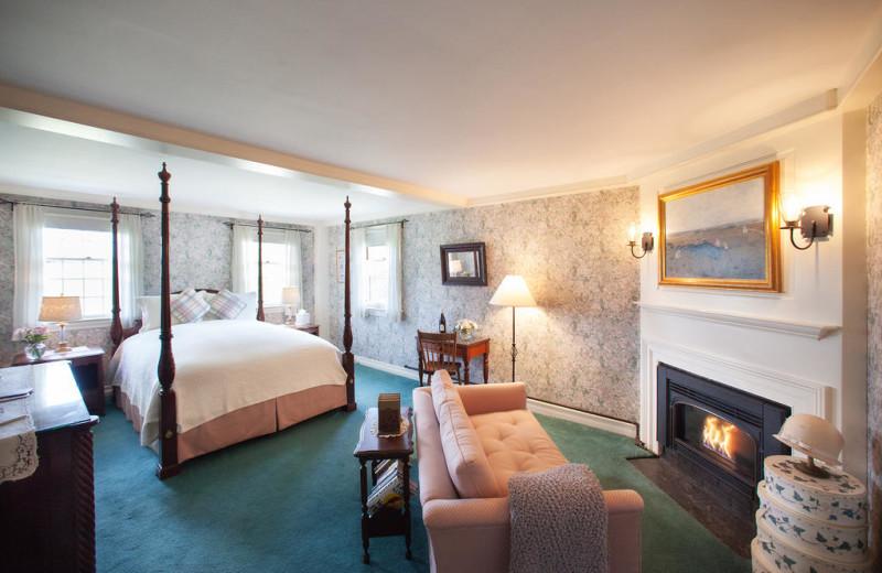 Guest room at Adair Country Inn.