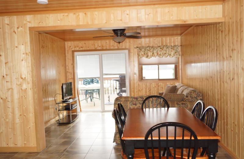 Suite dining room at Contessa Resort.