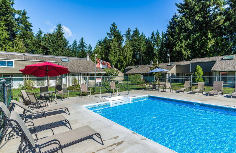 Outdoor pool at Ocean Trails Resort.