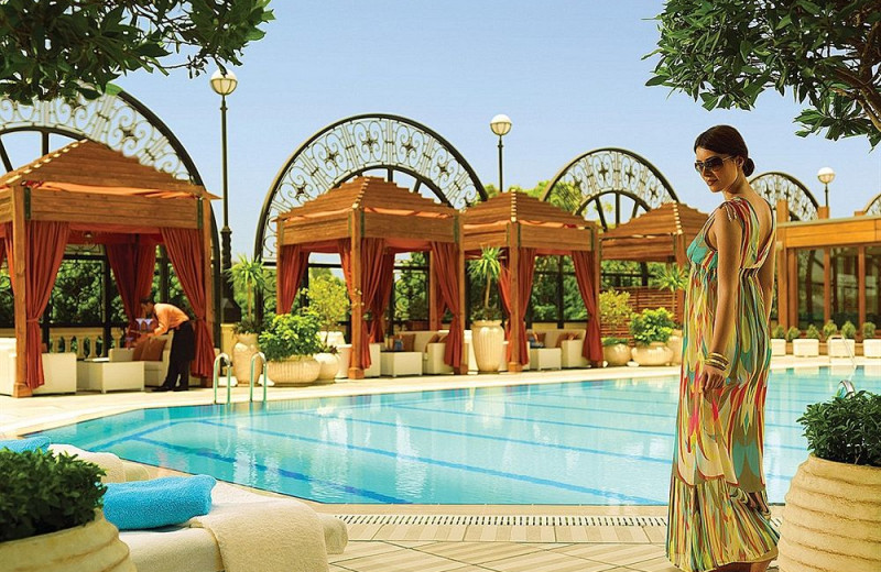 Outdoor pool at Four Seasons - Cairo at the First Residence.