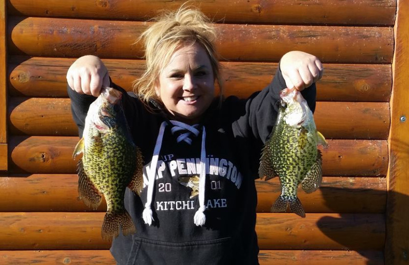 Nice Crappies at Bliss Point Resort