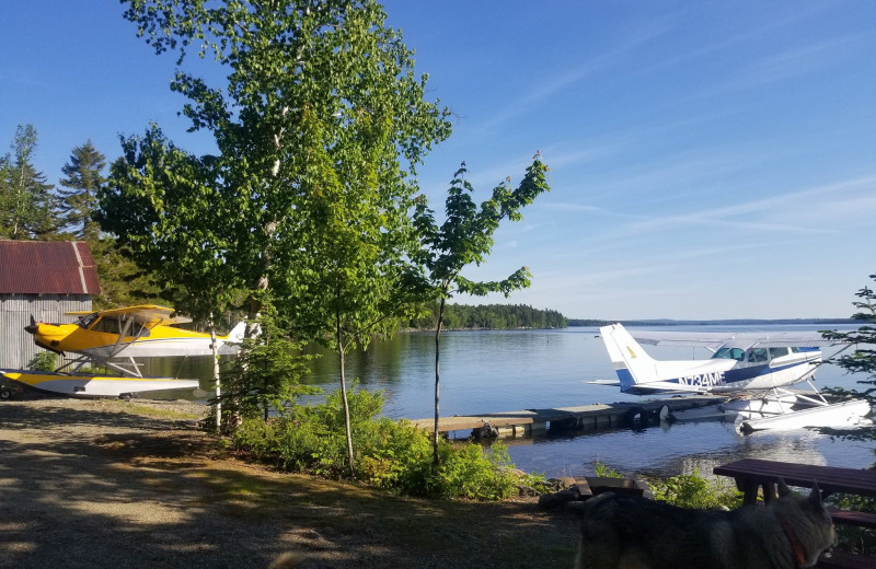Airplanes at The Birches Resort.
