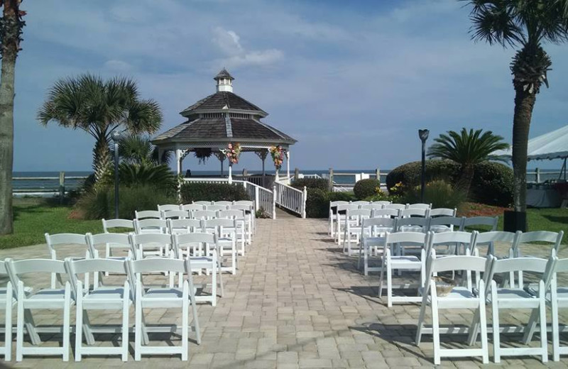 Wedding at Coral Sands Oceanfront Resort.