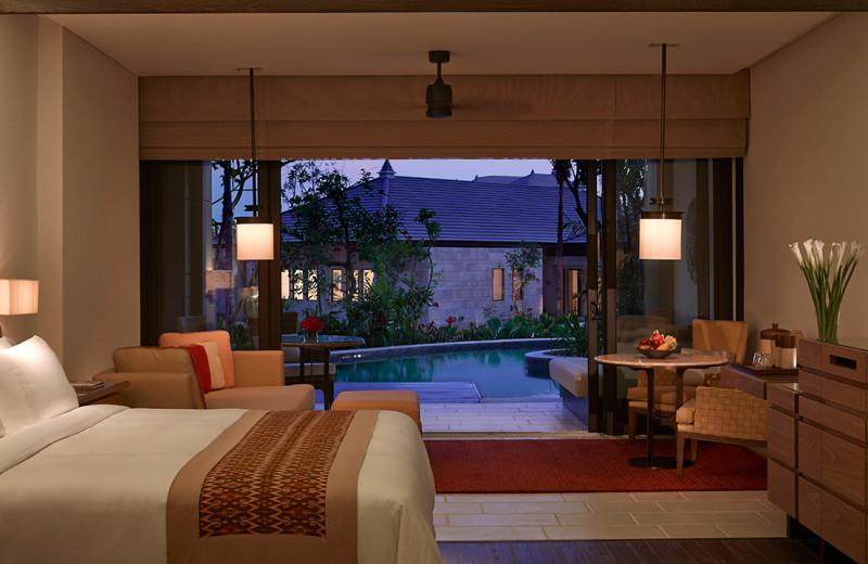 Guest room at The Ritz-Carlton, Bali.