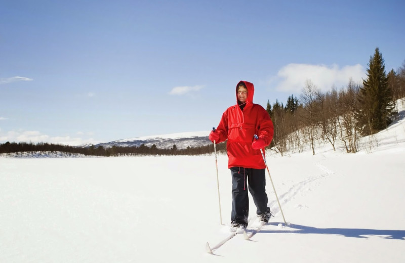 Skiing at Arrowwood Resort and Conference Center.