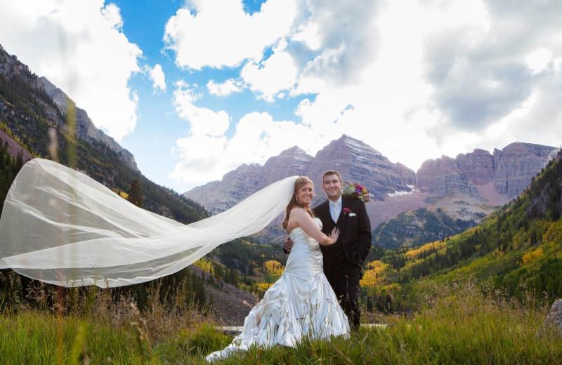 Wedding at The Westin Snowmass Resort.