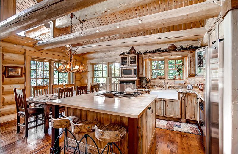 Rental kitchen at Breckenridge Rentals by Owner.