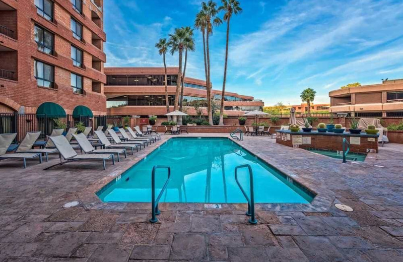 Outdoor pool at Scottsdale Marriott Suites Old Town.