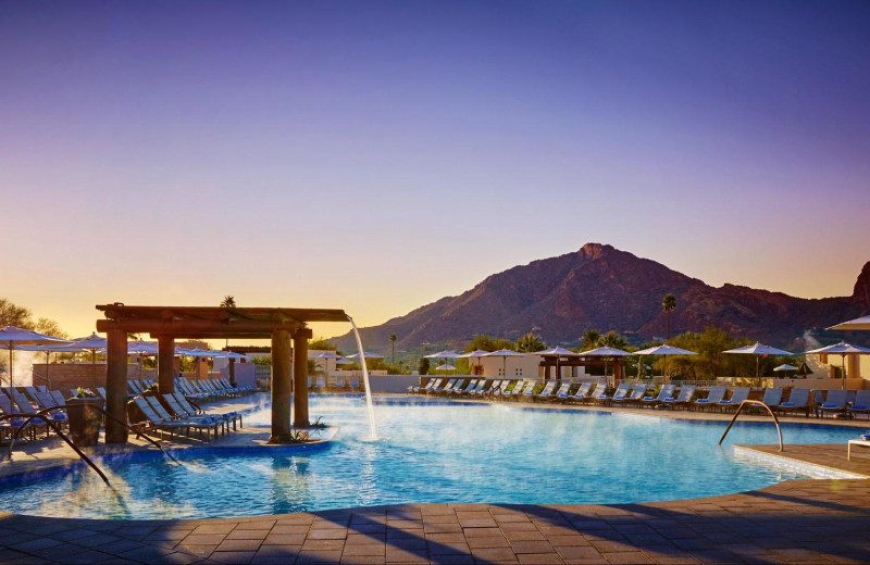 Outdoor pool at JW Marriott Camelback.