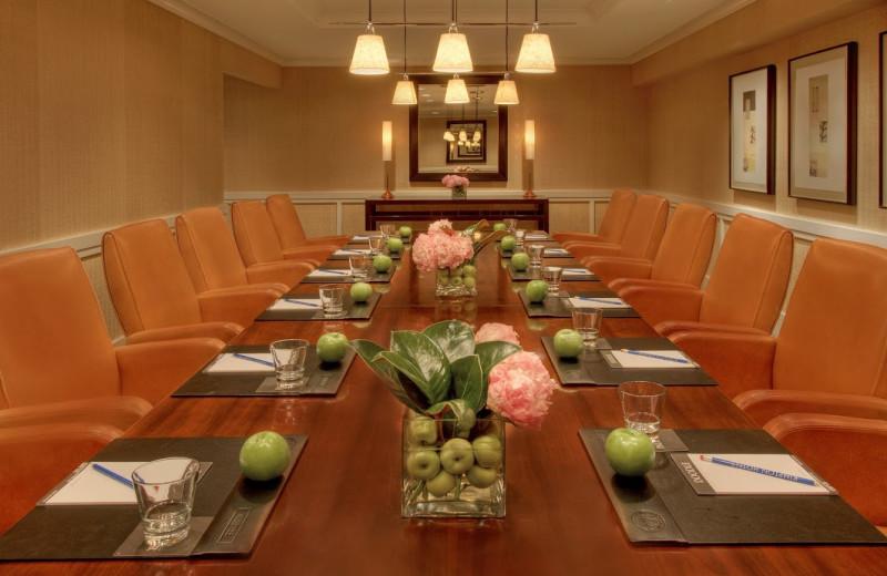 Meeting room at Hotel Palomar.