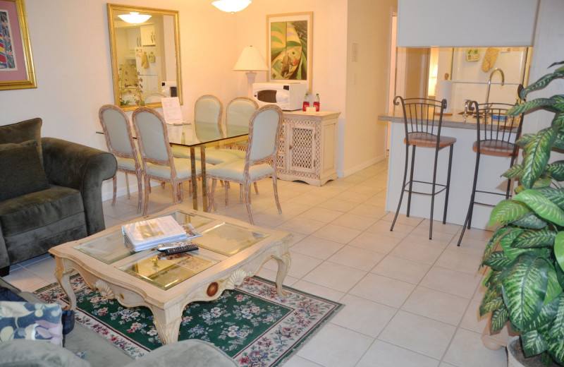 Rental interior at Beach Vacation Rentals.