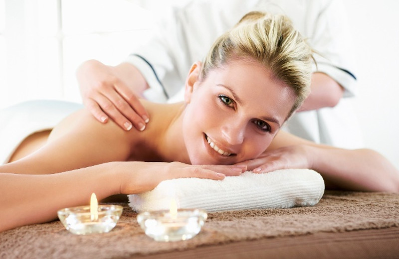 Spa services at Oasis Suites.