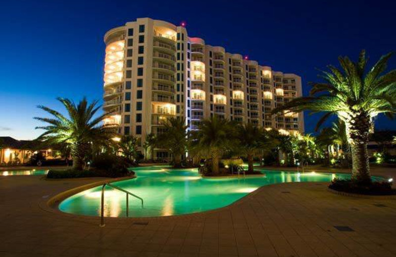 Exterior view of The Palms of Destin Resort & Conference Center.
