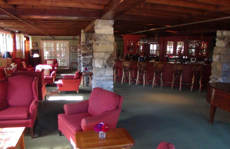 Lounge at High Hampton Inn.