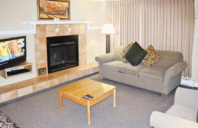 Studio Interior at the Panorama Vacation Retreat at Horsethief Lodge