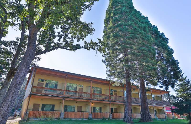 Exterior view of Westcliff Lodge.