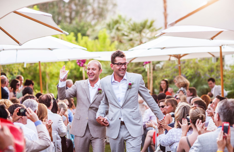 Weddings at Colony Palms Hotel.