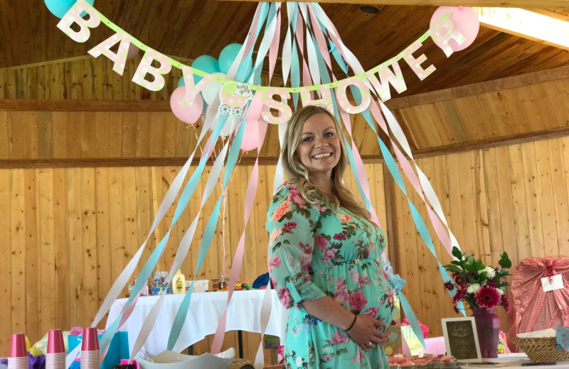 Baby shower at Quinn's Hot Springs Resort