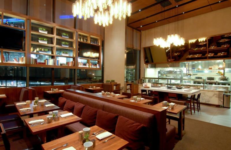 Restaurant view at Grand Hyatt San Francisco.