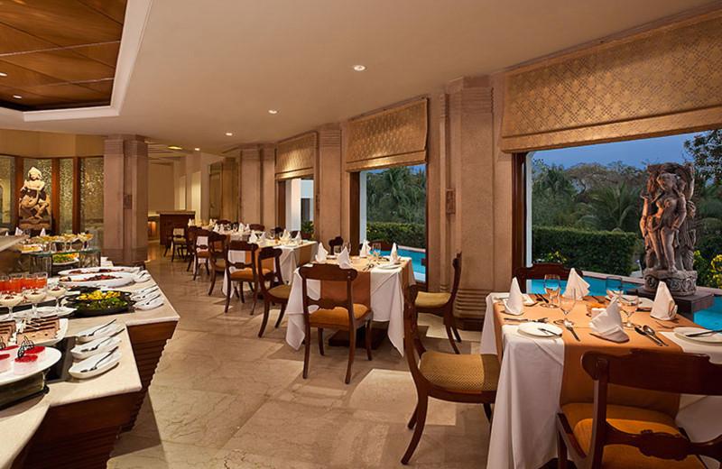 Dining at Trident Bhubaneswar.