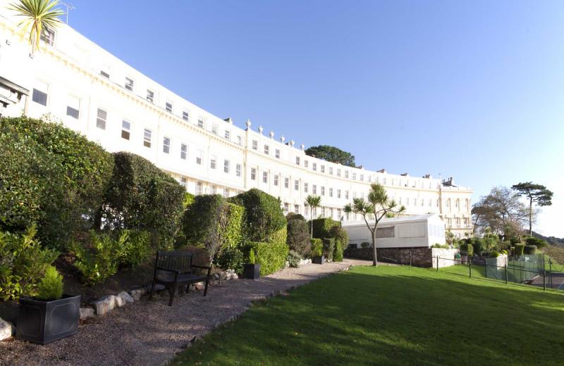 Exterior view of Osborne Hotel.