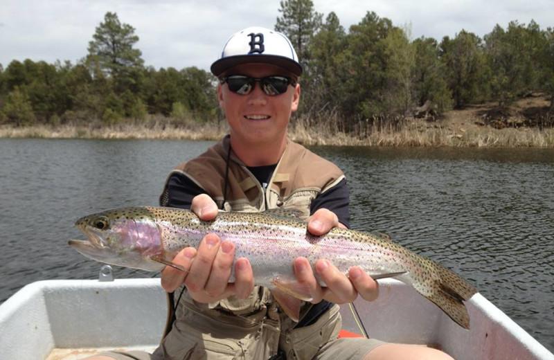 Fishing at Willowtail Springs