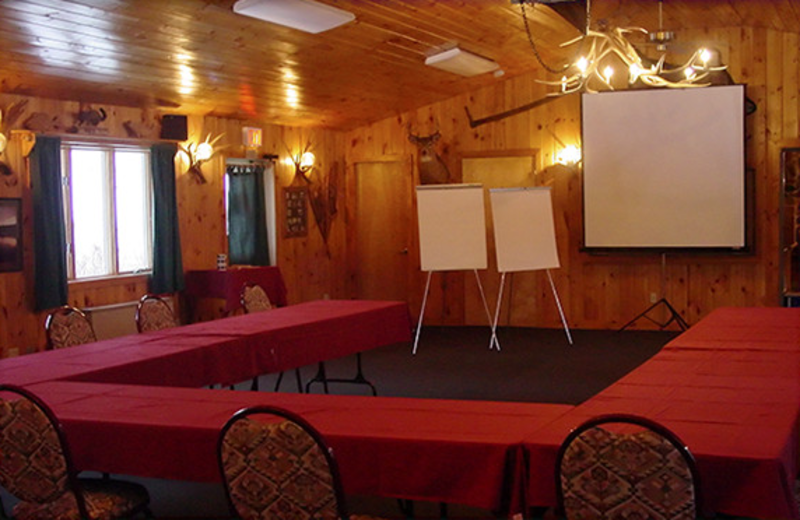 Meetings at Gunflint Lodge.