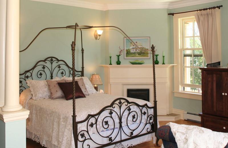 Guest room at Barachois Inn.
