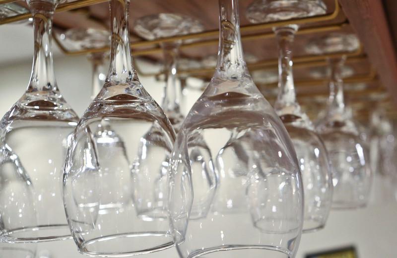 Glasses at GrandStay Perham.