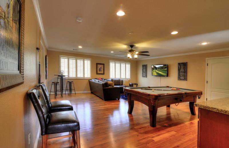 Rental living room at Arizona Vacation Rentals.