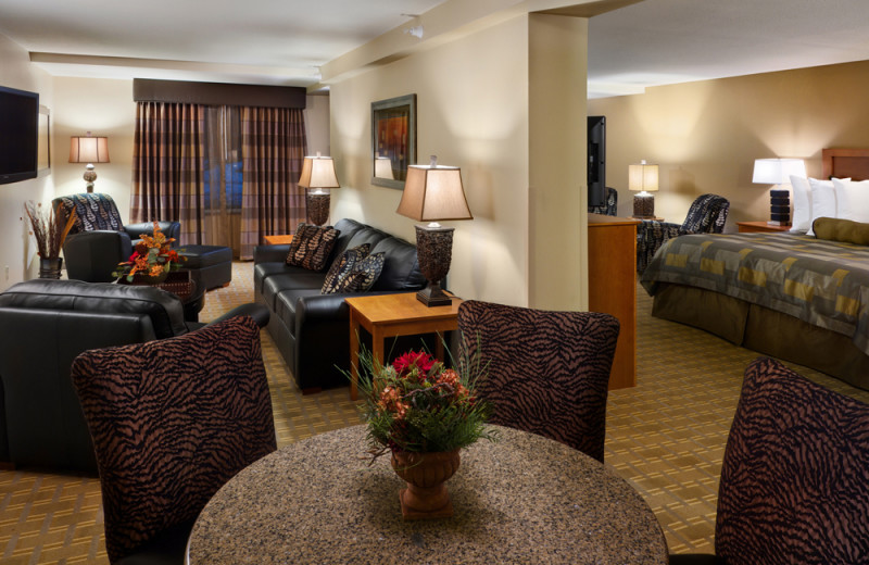 Guest room at Best Western Plus Bloomington at Mall Of America.
