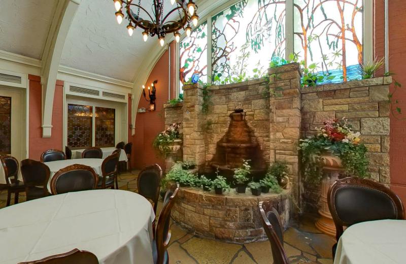 Garden Room at Lowell Inn.