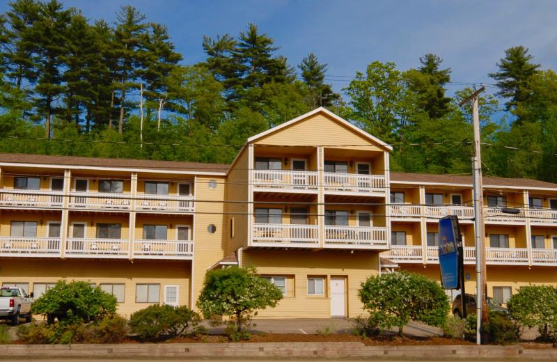 Exterior view of Naswa Resort.