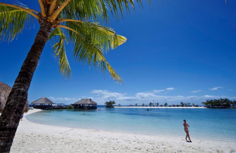 The beach at Maribago Bluewater Beach Resort.