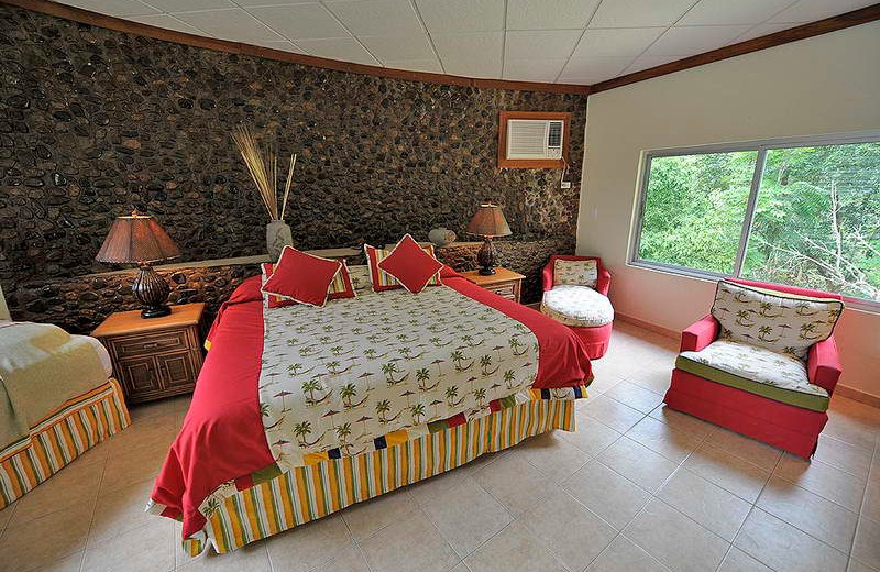 Guest room at Tropic Star Lodge.