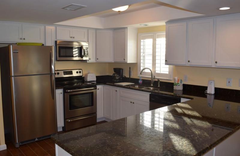 Rental kitchen at Alicia J. Hollis, Realtor.