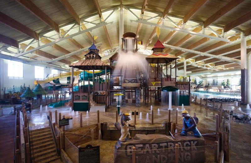 Waterpark at Great Wolf Lodge - Grand Mound.