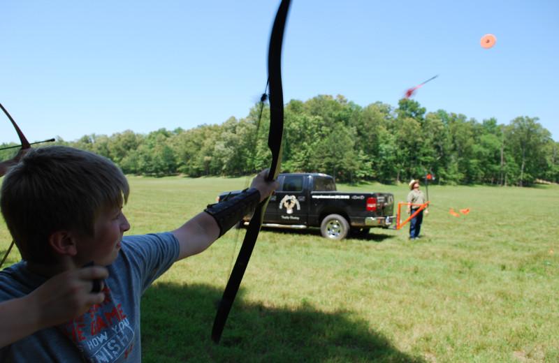 Archery School at Goodman Ranch.