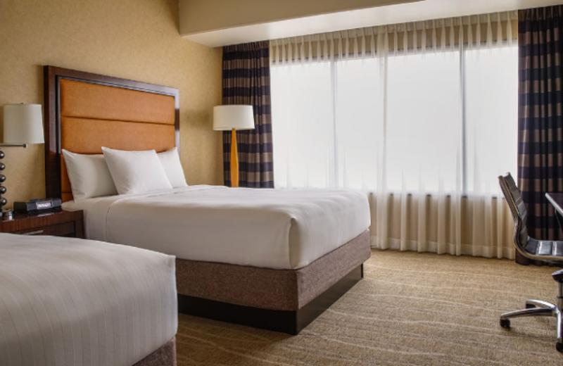Guest room at Hyatt Regency Phoenix