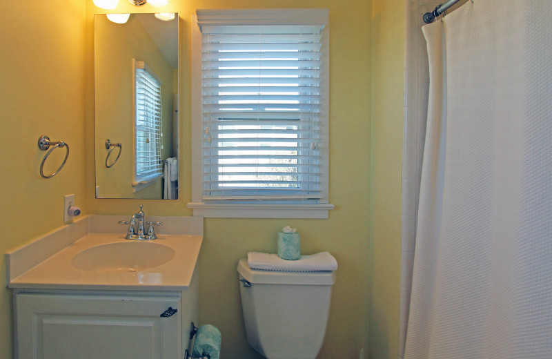 Bathroom at Ocean Point 18.