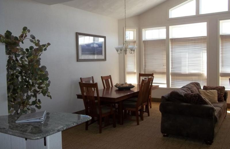 Suite interior at Fairway Suites.