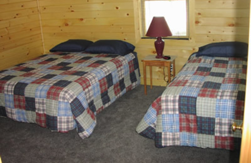 Cabin Interior at Powder Horn Lodge